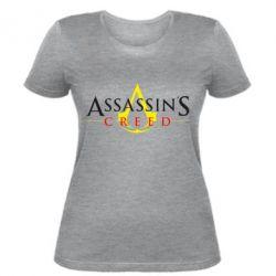 Женская футболка Кредо убийцы - FatLine