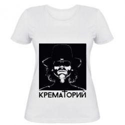 Женская футболка Крематорий Летов