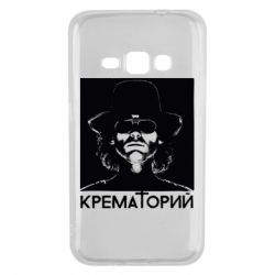 Чехол для Samsung J1 2016 Крематорий Летов