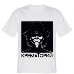 Мужская футболка Крематорий Летов