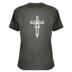 Камуфляжная футболка Крест 2 - FatLine
