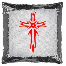 Подушка-хамелеон Крест 2