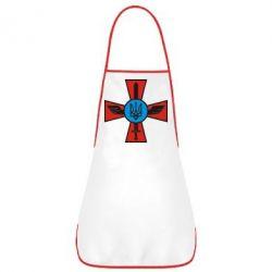 Фартук Крест з мечем та гербом - FatLine