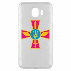Чохол для Samsung J4 Хрест з мечем та гербом