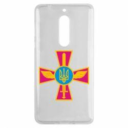 Чехол для Nokia 5 Крест з мечем та гербом - FatLine