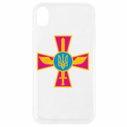 Чехол для iPhone XR Крест з мечем та гербом - FatLine