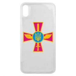 Чехол для iPhone Xs Max Крест з мечем та гербом - FatLine