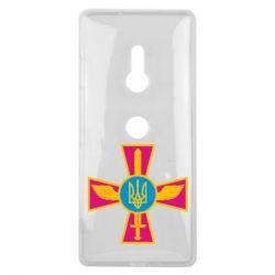 Чехол для Sony Xperia XZ3 Крест з мечем та гербом - FatLine