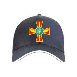 Кепка Крест з мечем та гербом - FatLine