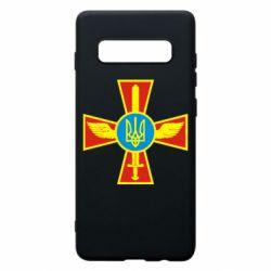 Чохол для Samsung S10+ Хрест з мечем та гербом