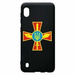 Чохол для Samsung A10 Хрест з мечем та гербом