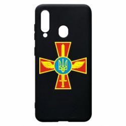 Чохол для Samsung A60 Хрест з мечем та гербом