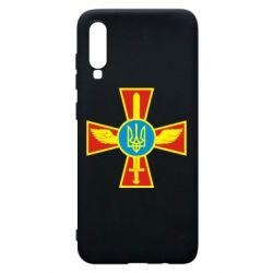 Чохол для Samsung A70 Хрест з мечем та гербом