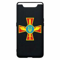 Чохол для Samsung A80 Хрест з мечем та гербом