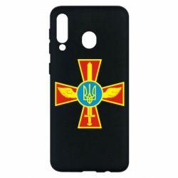 Чохол для Samsung M30 Хрест з мечем та гербом