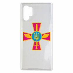 Чехол для Samsung Note 10 Plus Крест з мечем та гербом