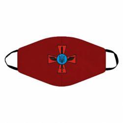 Маска для лица Крест з мечем та гербом
