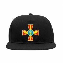 Снепбек Крест з мечем та гербом - FatLine