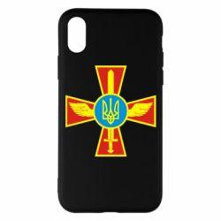 Чохол для iPhone X/Xs Хрест з мечем та гербом