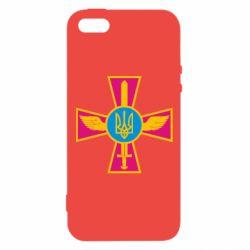 Чохол для iphone 5/5S/SE Хрест з мечем та гербом