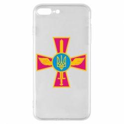 Чохол для iPhone 8 Plus Хрест з мечем та гербом
