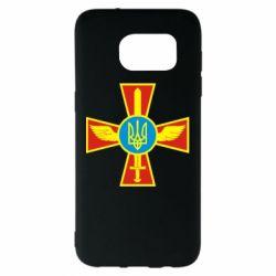 Чехол для Samsung S7 EDGE Крест з мечем та гербом - FatLine