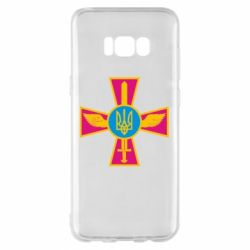 Чохол для Samsung S8+ Хрест з мечем та гербом