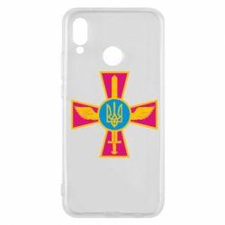 Чехол для Huawei P20 Lite Крест з мечем та гербом - FatLine