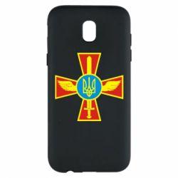 Чехол для Samsung J5 2017 Крест з мечем та гербом - FatLine
