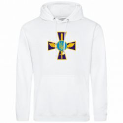 Толстовка Крест з мечем та гербом - FatLine