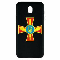 Чехол для Samsung J7 2017 Крест з мечем та гербом - FatLine