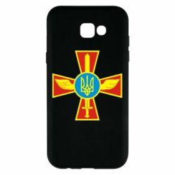 Чохол для Samsung A7 2017 Хрест з мечем та гербом