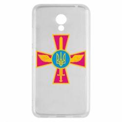 Чехол для Meizu M5c Крест з мечем та гербом - FatLine