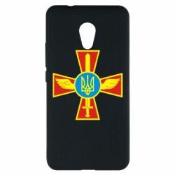 Чехол для Meizu M5s Крест з мечем та гербом - FatLine