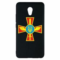 Чехол для Meizu M5 Note Крест з мечем та гербом - FatLine