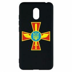 Чехол для Meizu M6 Крест з мечем та гербом - FatLine