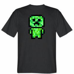 Чоловіча футболка Кріпер піксель арт