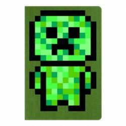 Блокнот А5 Кріпер піксель арт
