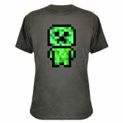 Камуфляжна футболка Кріпер піксель арт