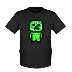 Дитяча футболка Кріпер піксель арт