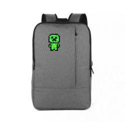 Рюкзак для ноутбука Кріпер піксель арт