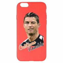 Чохол для iPhone 6 Plus/6S Plus Крістіано Роналдо, полігональний портрет