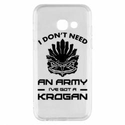 Купить Mass Effect, Чехол для Samsung A3 2017 Krogan, FatLine