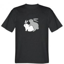Мужская футболка Кролики - FatLine