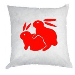 Подушка Кролики - FatLine