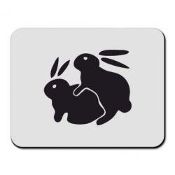 Коврик для мыши Кролики - FatLine