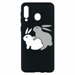 Чохол для Samsung M30 Кролики