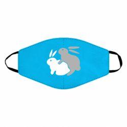 Маска для обличчя Кролики
