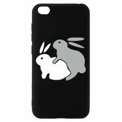 Чохол для Xiaomi Redmi Go Кролики