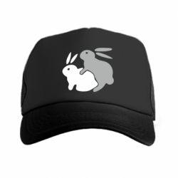 Кепка-тракер Кролики - FatLine